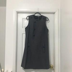 Eloquii wool gray jumper dress.